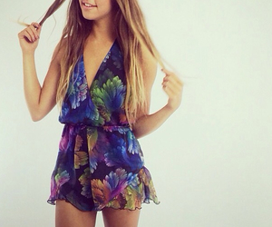 blue, fashion, and purple image
