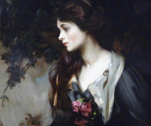 painting, art, and lady marjorie manners image