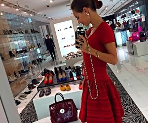 luxury and girl image