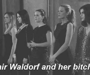 gossip girl, blair waldorf, and bitch image