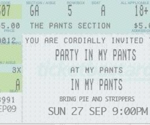 pants, funny, and party image