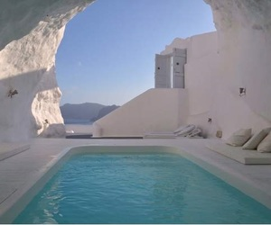 Greece, pool, and summer image