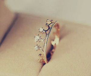 girly, ring, and rings image
