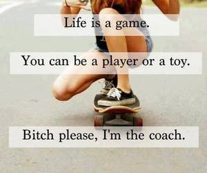 life, game, and coach image