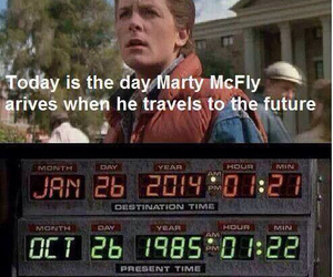 Back to the Future, future, and movie image