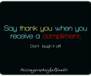 compliment, compliments, and typography image