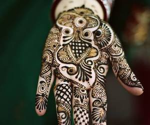 india, indian, and tattoo image