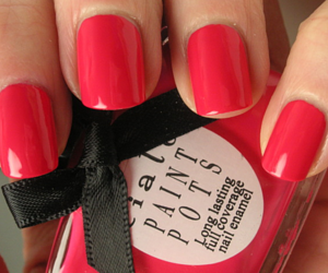 nail, paint, and pink image