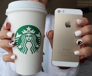 apple, coffee, and OMG image