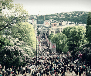 crowd, 17th of may, and norway image