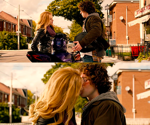 aaron johnson, kiss, and chloe moretz image