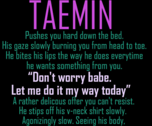 SHINee, Taemin, and insertbiasname image