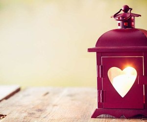 heart, light, and lantern image