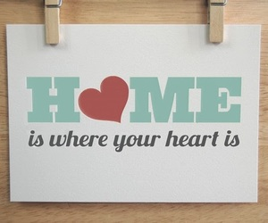 heart, home, and quotes image