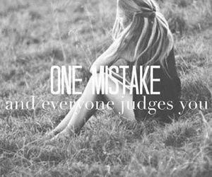 mistakes, judge, and quote image
