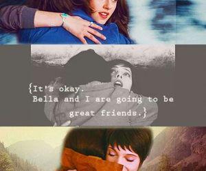 alice cullen, bella swan, and best friends image