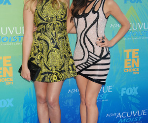dress, lucy hale, and pretty little liars image