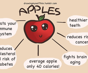 apple, fitness, and healthy image