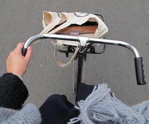 bike, pale, and tumblr image