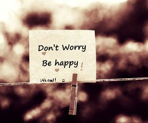 no worries and happiness image
