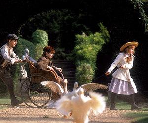 The Secret Garden, movie, and vintage image