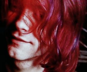 kurt cobain, nirvana, and red hair image