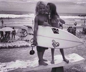 surf, beach, and kids image
