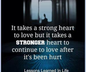 love, quote, and strong image
