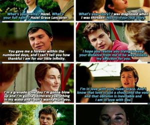August, hazel, and the fault in our stars image