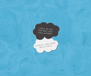 quote, the fault in our stars, and love image
