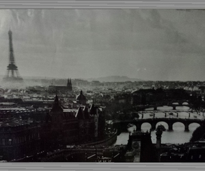 france, paris, and poster image