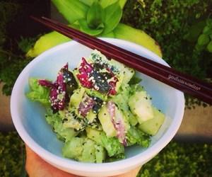 alkaline, healthy, and salad image