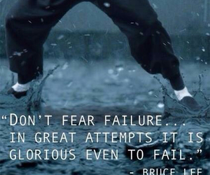 attempt, bruce lee, and failure image