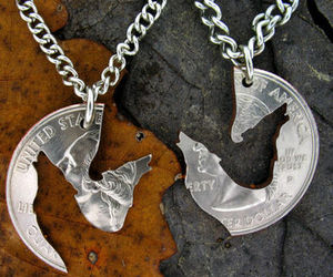 wolf and necklace image