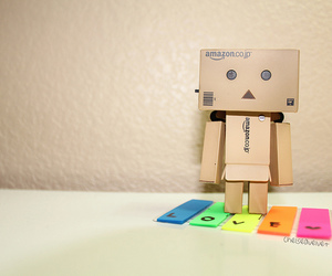 colors, danbo, and rainbow image