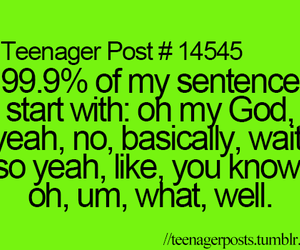 teenager post, quotes, and funny image