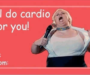 funny, pitch perfect, and cardio image