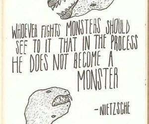 dinosaurs, quote, and monsters image