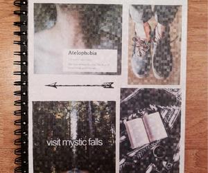 notebook, mine, and starbucks image