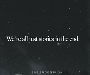 life, story, and tne end image