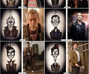 david tennant, doctor, and christopher eccleston image