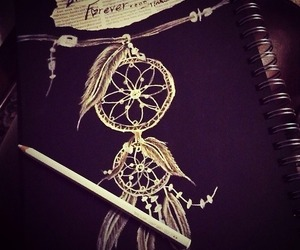 black, dream catcher, and life image