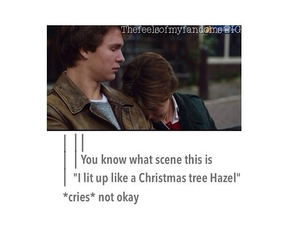 john green, the fault in our stars, and tfios trailer image