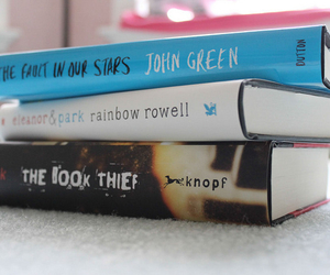 books, the fault in our stars, and movies image
