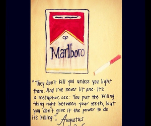 marlboro and the fault in our stars image