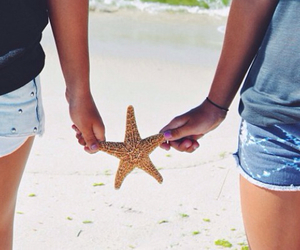 beach, best friends, and cali image
