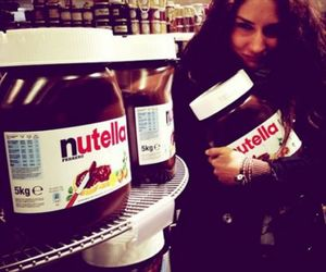 nutella, girl, and love image