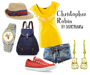 christopher robin and disneybound image