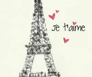 france, hearts, and paris image