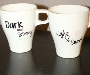 coffe, cups, and diy image